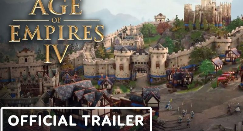 Age of Empire 4: Finally a Gameplay Trailer, It's Sublime!