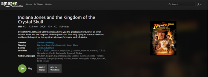 Amazon Prime Video Opens Up to the World, With No Surcharge for Premium Customers in France