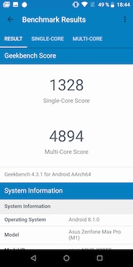 Test of the Asus Zenfone Max Pro (M1): a Solid Autonomy for This Redmi Competitor Note 5