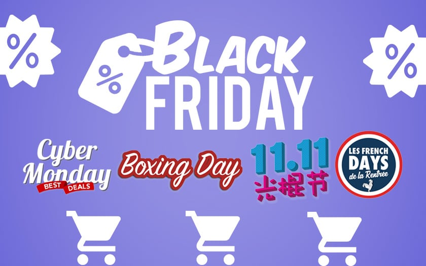 black friday and other big shopping events of the year