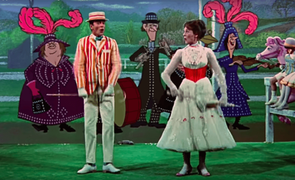 The Return of Mary Poppins: a Passage From Russian Tmoin