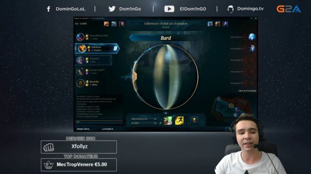 Little dictionary of the perfect streamer – Domingo