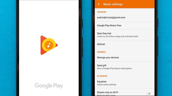 Google Play Music offers free music downloads / © AndroidPIT