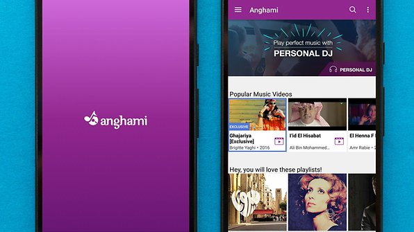 In the Middle East, Anghami is a Google Play Music type service / © AndroidPIT