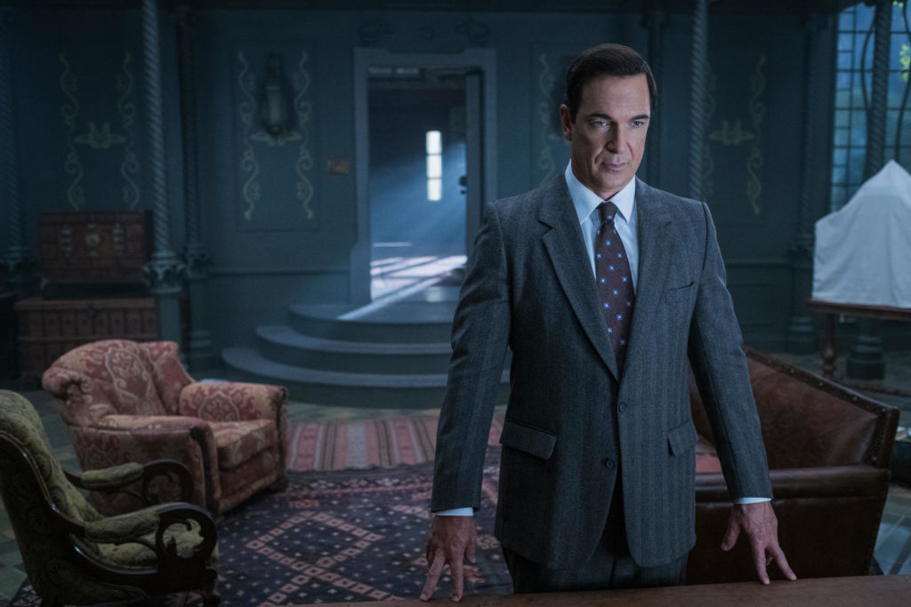 Lemony Snicket, played by Patrick Warburton