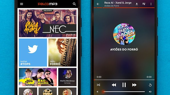 Palco puts at your disposal thousands of independent Brazilian artists / © AndroidPIT