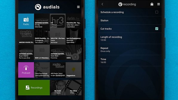 Record music from tens of thousands of radio stations with Radio Player by Audials / © AndroidPIT