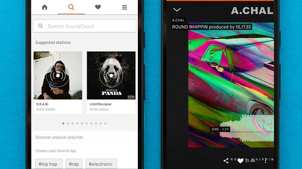 SoundCloud is an incredible place to discover free music (for now) / © AndroidPIT