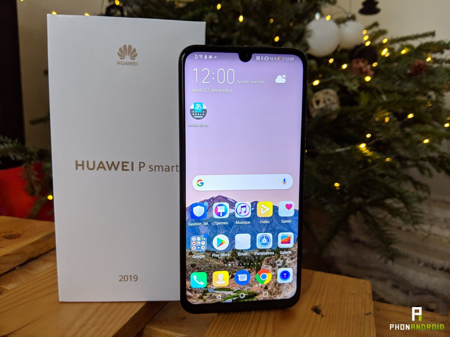 Test of the Huawei P Smart 2019 : Huawei Starts the Year in Beauty
