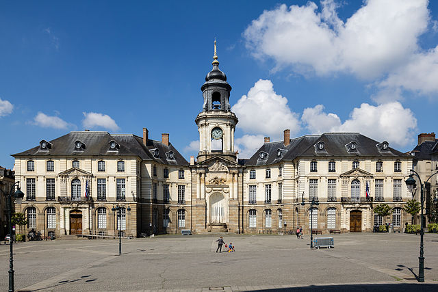 The town hall of Rennes