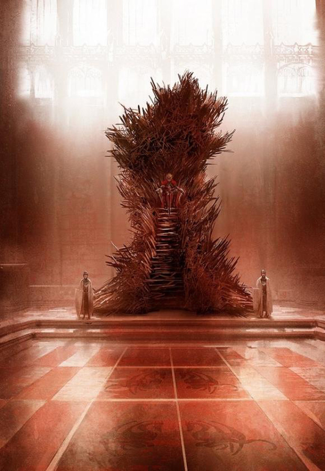 The Iron Throne as the Author Imagines It to Be