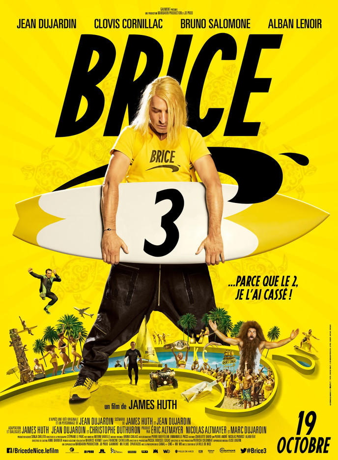 Brice De Nice 3 Has Leaked and is Available in Hd Streaming Because of Jean Dujardin!