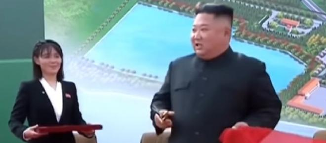Kim Jong-un inaugurated a fertilizer factory on May Day, according to North Korean state media.