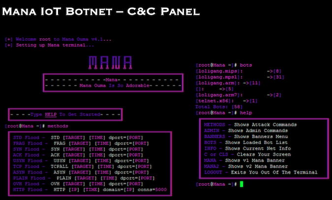C&C Panels of 10 Researchers Compromised IoT Botnets